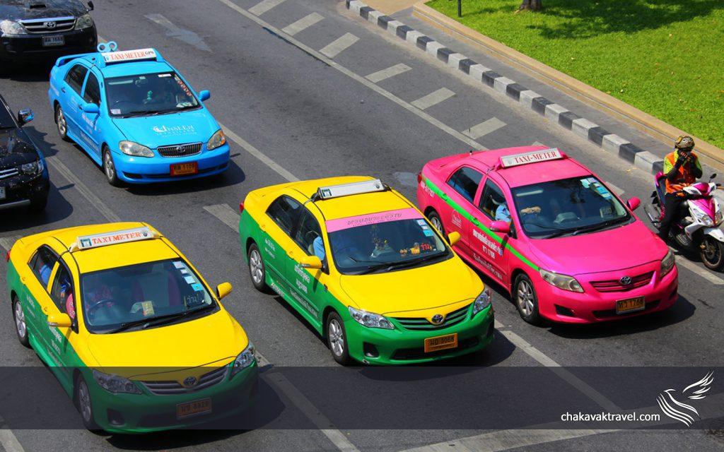 جابجایی و حمل و نقل در تایلند ناوگان حمل و نقل تایلند سفر شهری در تایلند تاکسی تایلند