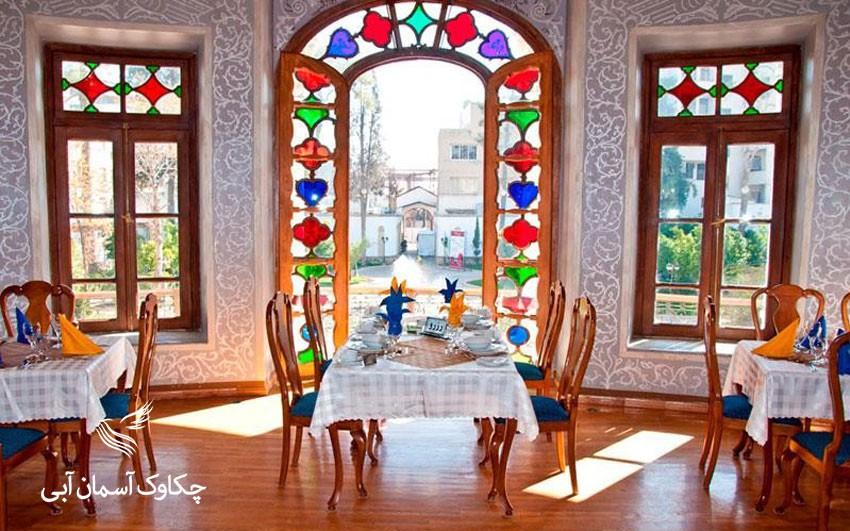 بخشهای مختلف یک عمارت شاپوری زیبا