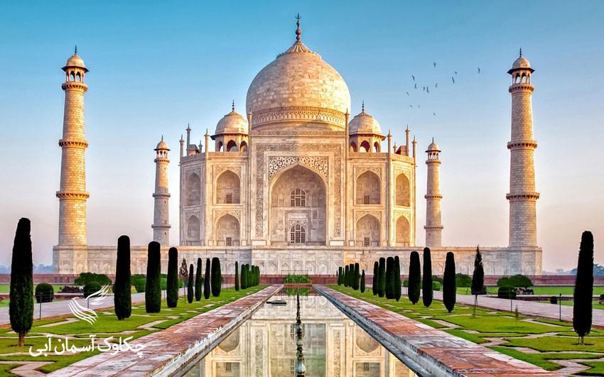 تور هند تور آگرا تاج محل نماد عشق