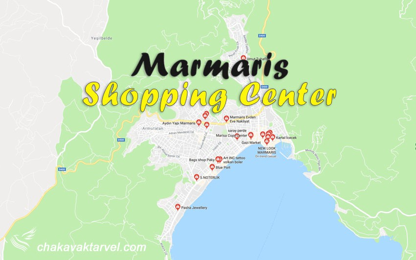 بررسی مراکز خرید مارماریس و سوغات مارماریس ترکیه