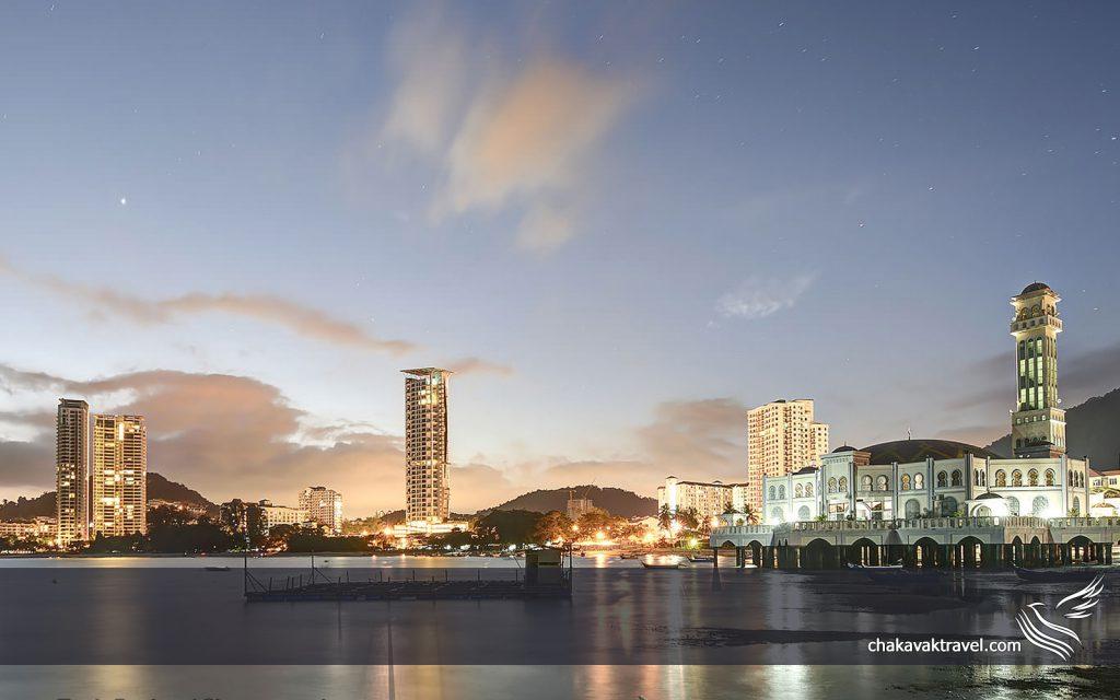 سفر به شهر پنانگ در ایالت پنانگ در کشور مالزی