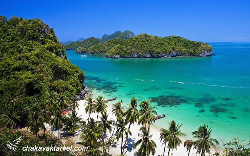 1 - پارک ملی آنگ تونگ مرواریدی درخشان در جزیره سامویی