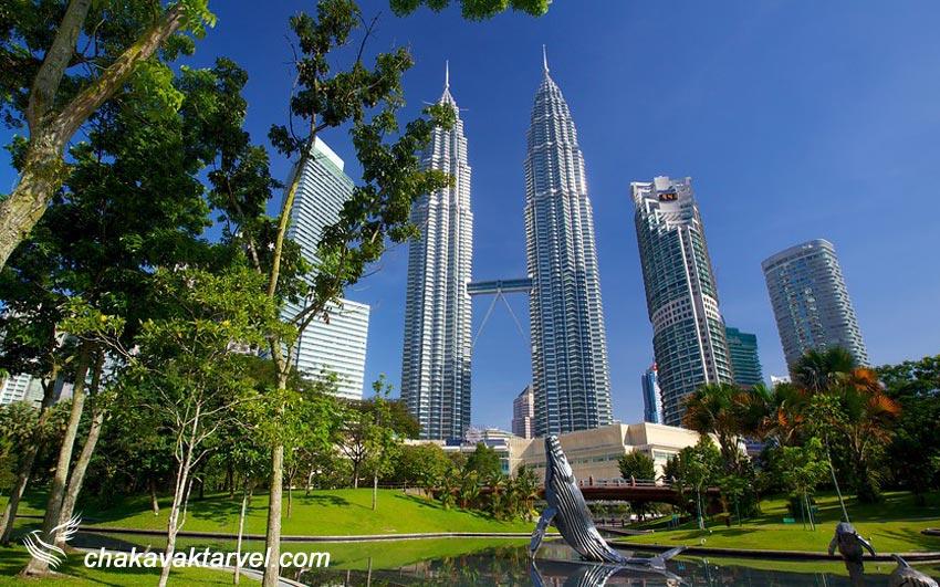 klcc park کی ال سی سی پارک مالزی سنترال پارک کوالالامپور