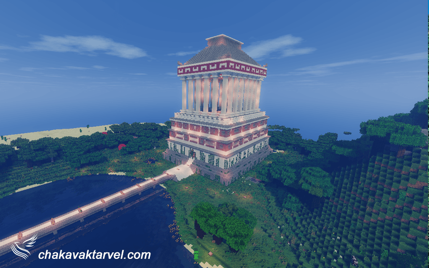 بدروم شهر عجایب هفتگانه دنیای باستان