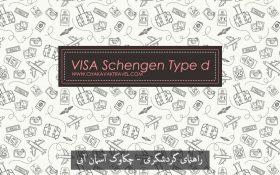 ویزای شینگن نوع D VISA Schengen Type d ویزای ملی(National Visas) ویزای مولتی توریستی شینگن نوع D