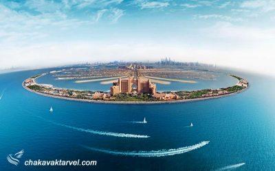 جزیره نخل جمیرا | جاذبه گردشگری دبی و هتل آتلانتیس