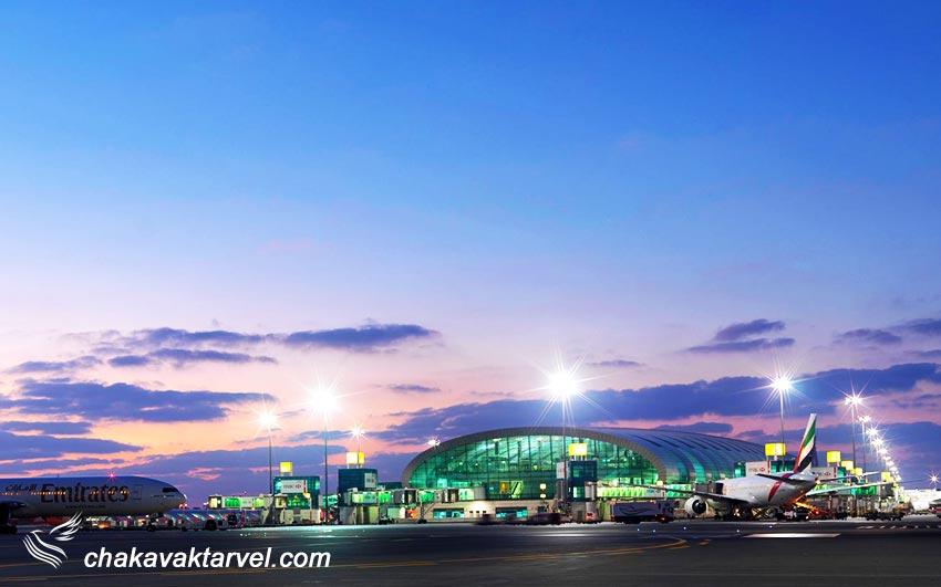 فرودگاه دبی حمل و نقل مترو تاکسی و اتوبوس دبی تور دبی