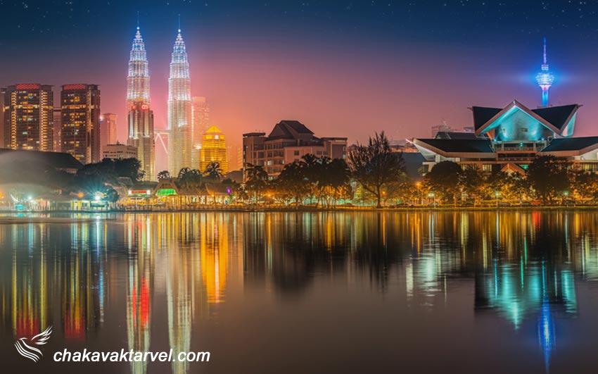 کوالالامپور شهر آسمانخراشها