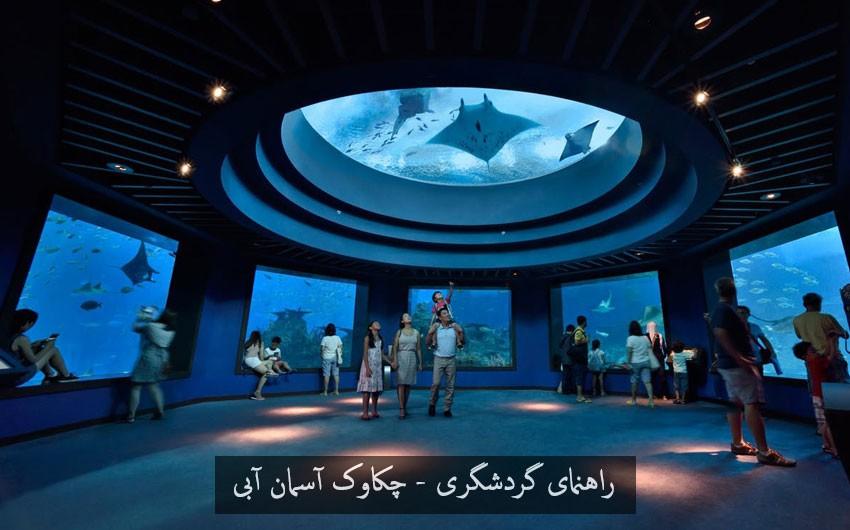 بخش های سی آکواریوم S.E.A. Aquarium جاذبه گردشگری اندونزی