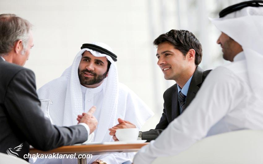 کسب و کار در دبی تجارت و نمایندگی های امارات