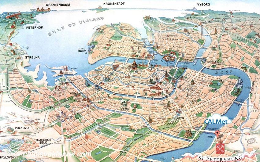 بررسی جغرافیا و شرایط آب و هوایی سن پترزبورگ
