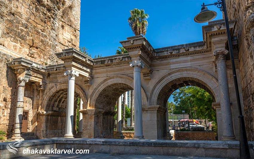 شهر کاله کاپیسی آنتالیا از جنس سنگ