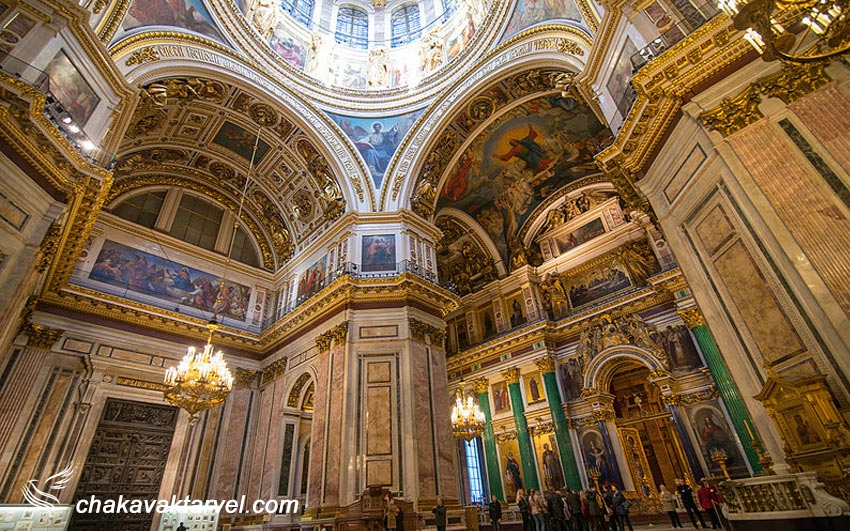 نمای داخلی کلیسای جامع سنت ایزاک