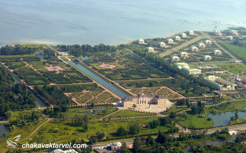 کاخ سلطنتی کنستانتین یکی از شاهکارهای معماری روسیه