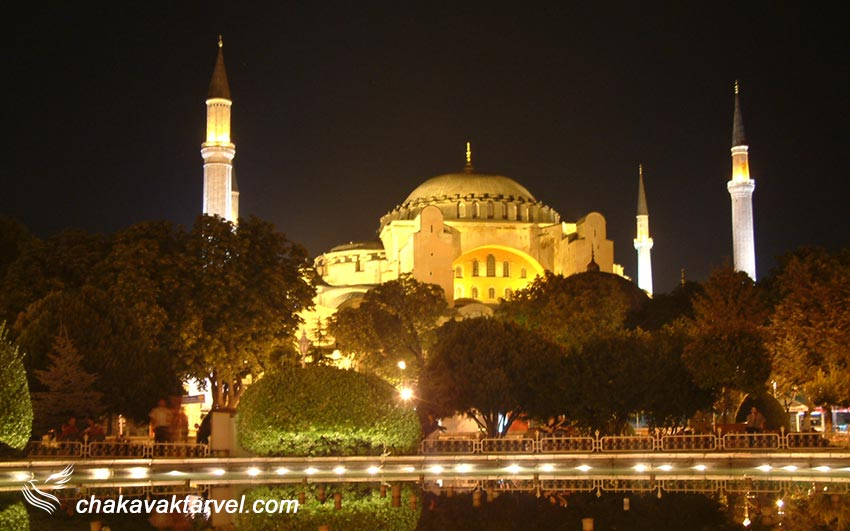 معرفی مسجد ایاصوفیه ترکیه در استانبول