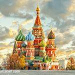 تور مسکو سن پترزبورگ تور ترکیبی مسکو سنت پترزبورگ