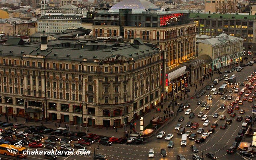 خیابان تورسکایای لوکسترین خیابان مسکو