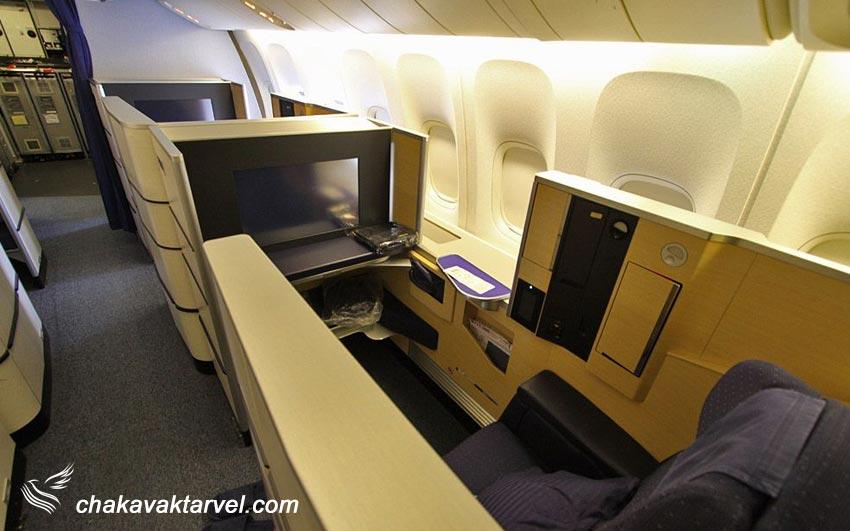 کلاس پروازی درجه یک یا فرست کلاس در بلیط مسافرین first class یا F نشان دهنده این نوع کلاس می باشد.