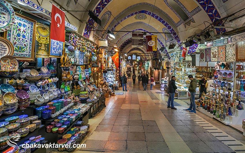 بازار بزرگ استانبول مقصد خرید برای گردشگران - grand bazzar
