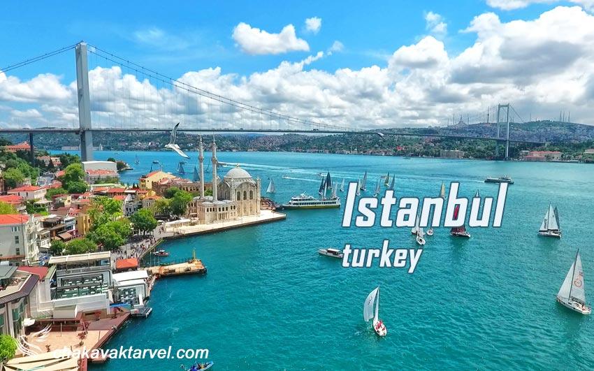 معرفی 9 جاذبه گردشگری استانبول ترکیه