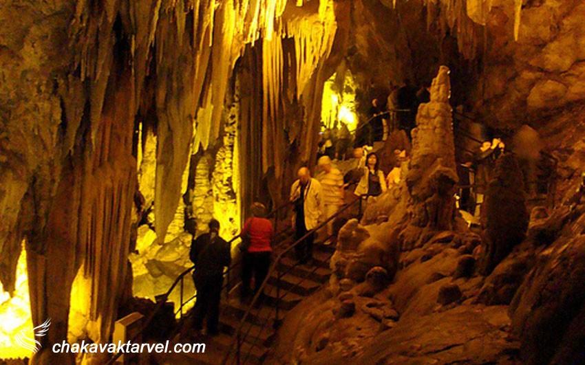 غارهای آنتالیا غار کارائین غار کجاین ماگارا غار بلدیبی