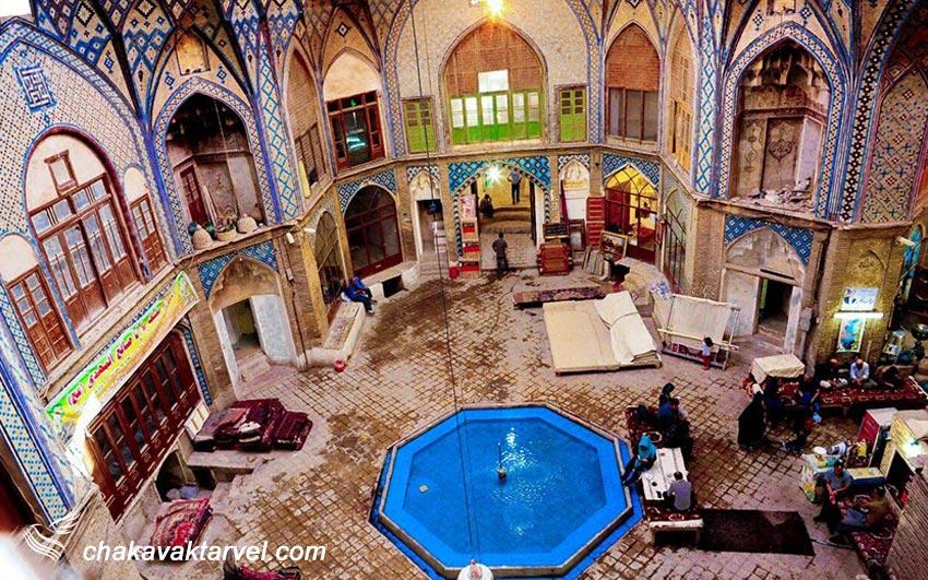 حمام و بازار تاریخی خان