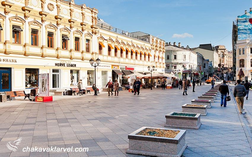 خیابان کوزنسکی موست موسکو