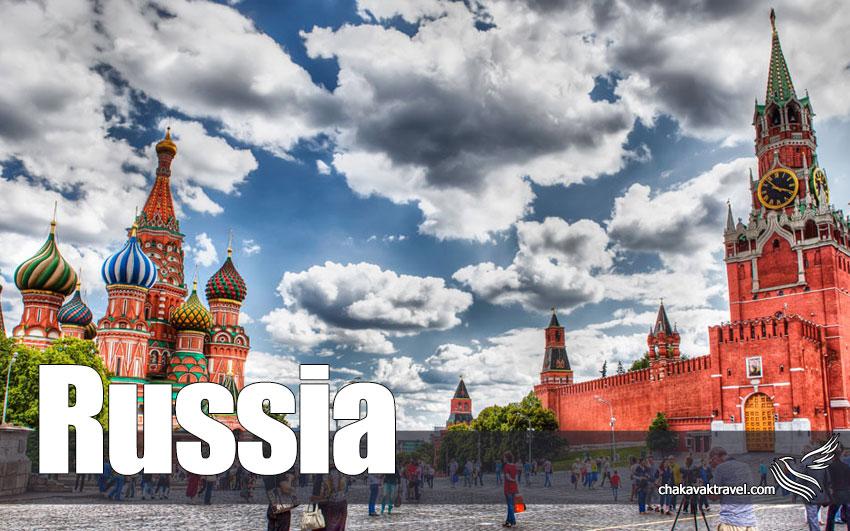 تور زوسیه مسکو سن پترزبورگ