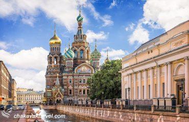 تور سنت پترزبورگ و مسکو