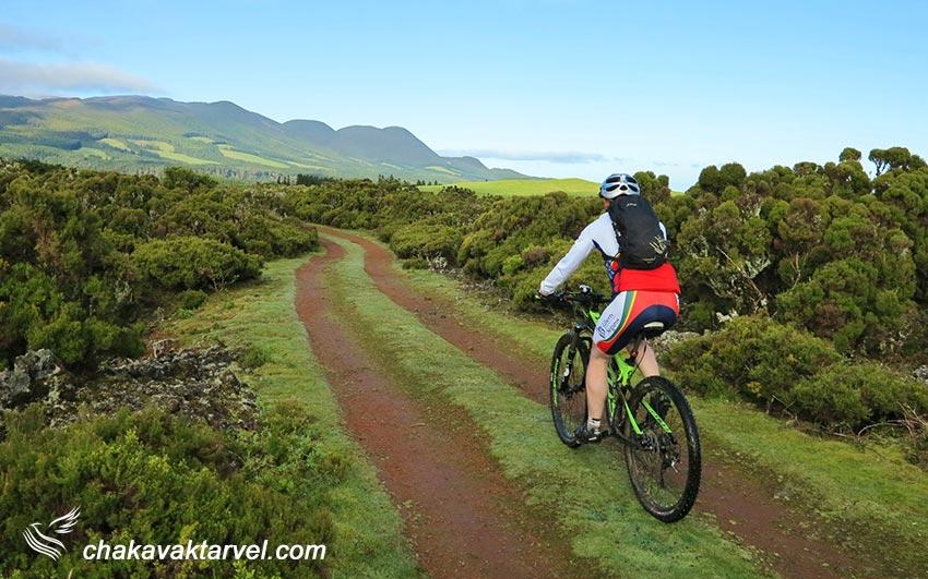 دوچرخه سواری در جزایر آزور
