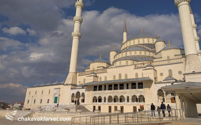 مسجد کوجاتپه در پایتخت ترکیه آنکارا