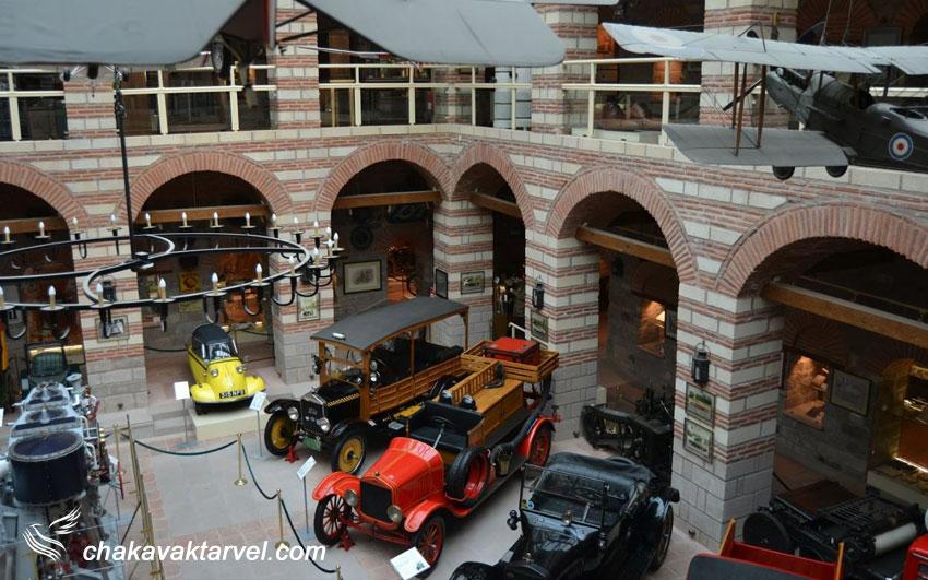 موزه صنعتی راحمی اِم آنکارا ترکیه