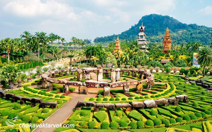 باغ نونگ نوچ | Nong Nooch Tropical Garden