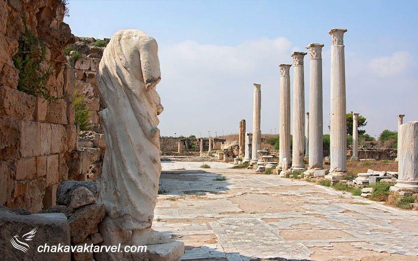 شهر باستانی سالامیس در فاماگوستا