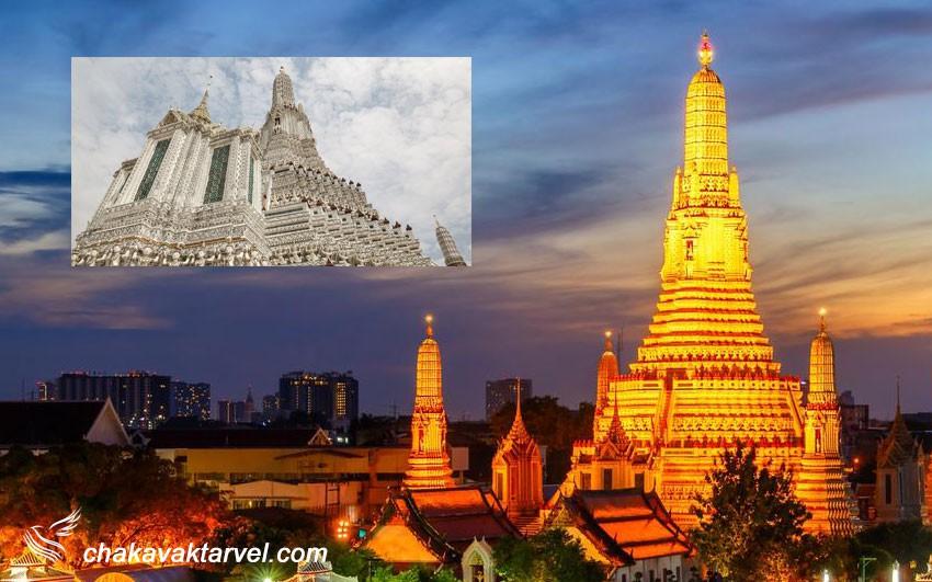 وات آرون یا معبد سپیده دم بانکوک تایلند
