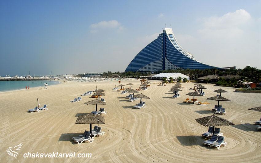 هتل 5 ستاره جمیرا بیچ ( دبی ) Jumeirah Beach هتل جمیرا