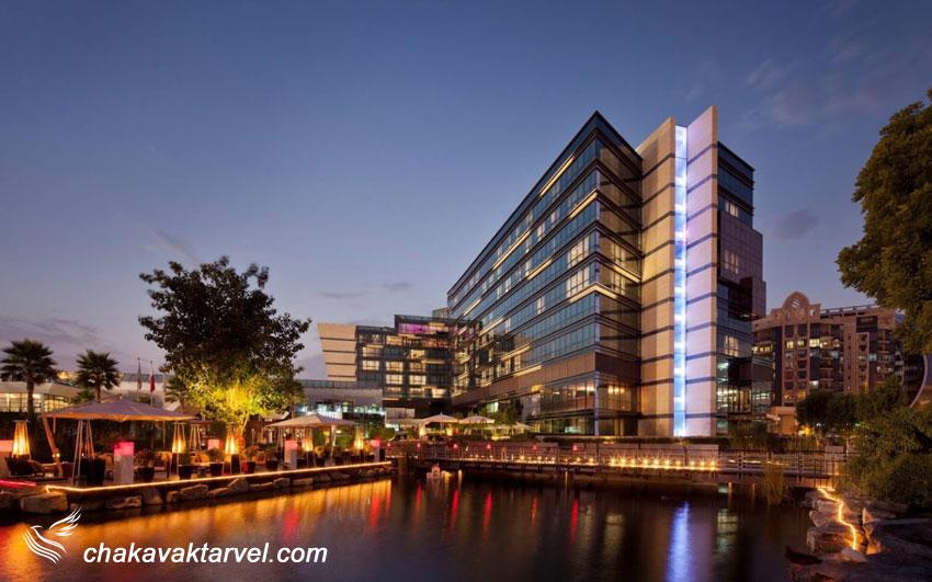 هتل 5 ستاره کریک ساید ( دبی ) Jumeirah Creekside Hotel هتل جمیرا