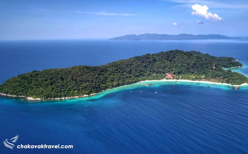 جزیره لانگ تنگا بهترین مکان برای غواصی در مالزی Lang Tengah Island