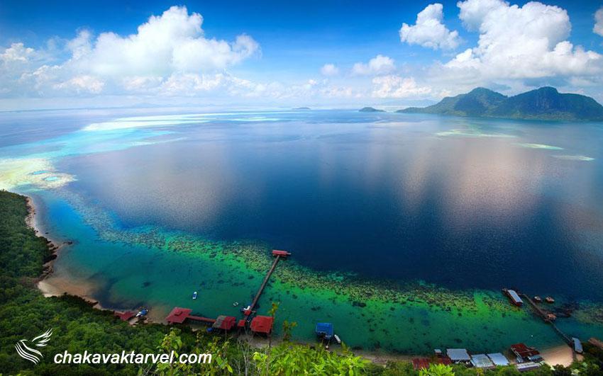 سواحل صباح مالزی