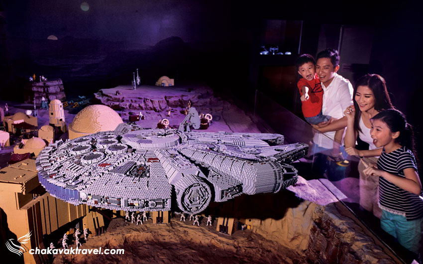 مینی شهربازی جنگ ستارگان لگویی مالزی