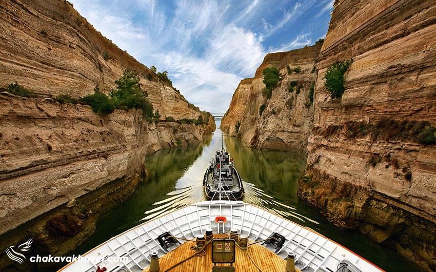 تردد کشتی ها در کانال کورنیس