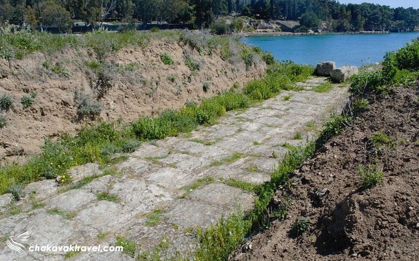 یونانیان قدیم قصد ساخت کانال را در گذشته داشته اند
