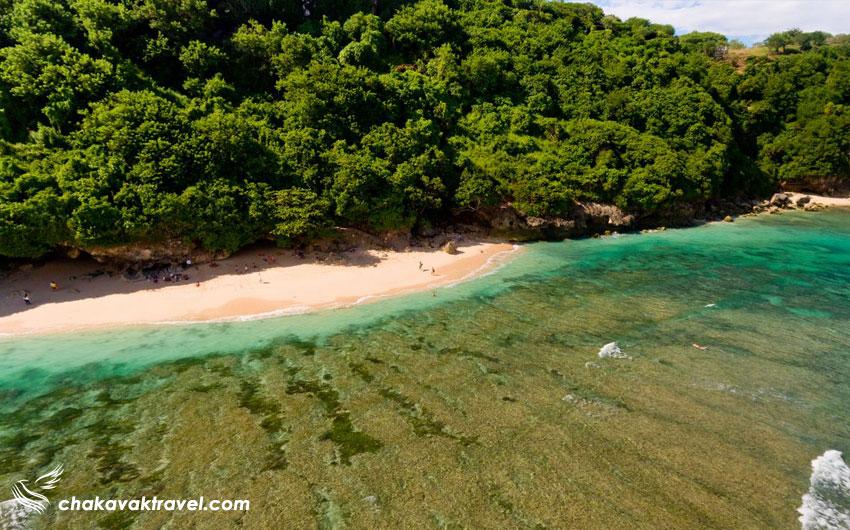 مسیر رسیدن به ساحل Green Bowl