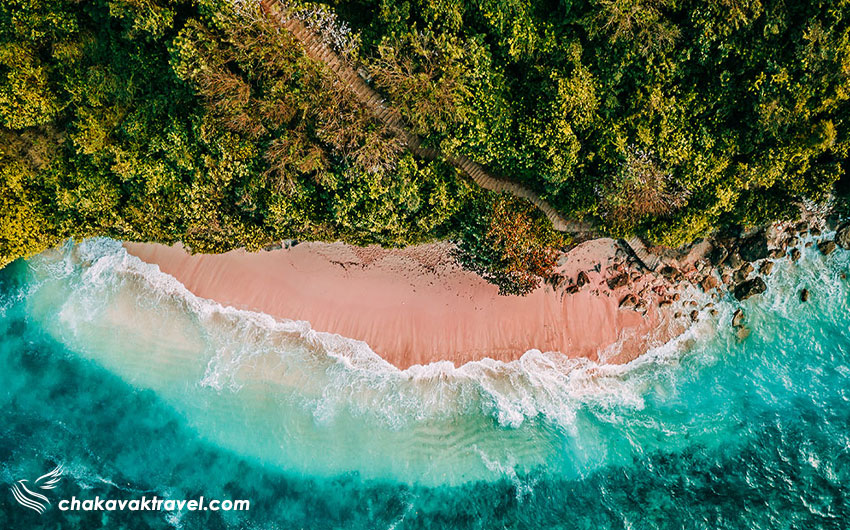 ساحل Green Bowl یا ساحل کاسه سبز بالی