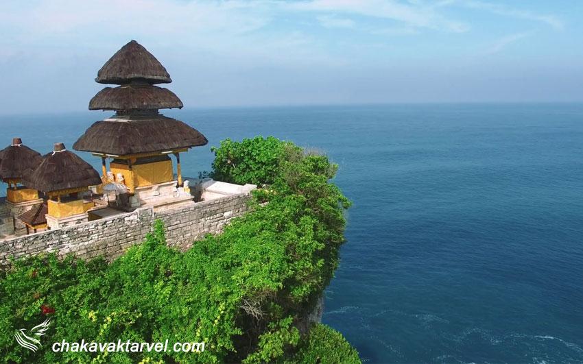معبد اولوواتو و ساحل بالی