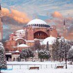 زمستان استانبول و برف مسجد ایاصوفیه و تور استانبول 4 شب و 5 روز ویژه 4 و 5 دی ماه