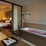 فضای حمام و اتاق های هتل 4 ستاره سان آیلند کوتا بالی Sun Island Hotel Spa Kuta