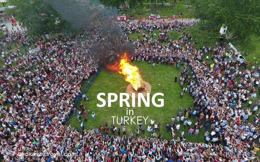 مزایای سفر به ترکیه در نوروز و مخصوصا فصل بهار چیست؟