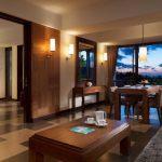 فضای سوئیت اتاق نشیمن هتل 4 ستاره سان آیلند کوتا بالی Sun Island Hotel Spa Kuta