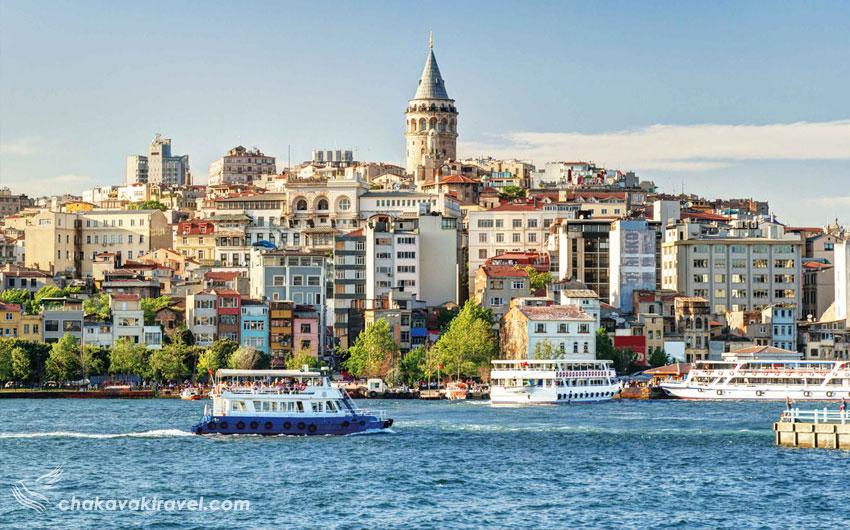 از مزایای سفر به ترکیه در فصل بهار آب و هوای کشور ترکیه می باشد